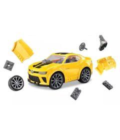 Carrinho-de-Montar---Sem-Limites---Camaro---Roma-Jensen---Amarelo