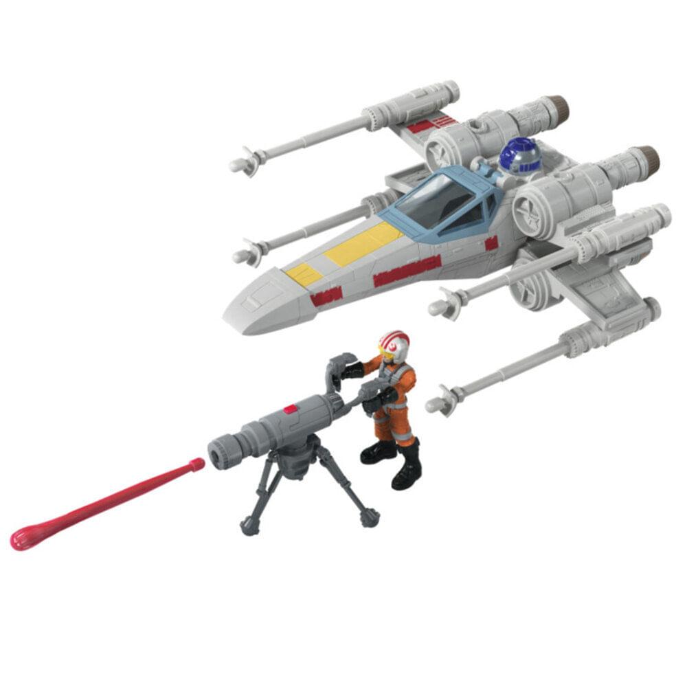 Veículo e Mini Figura Articulada - Disney - Star Wars - Mission Fleet - X-Wing Fighter - Hasbro