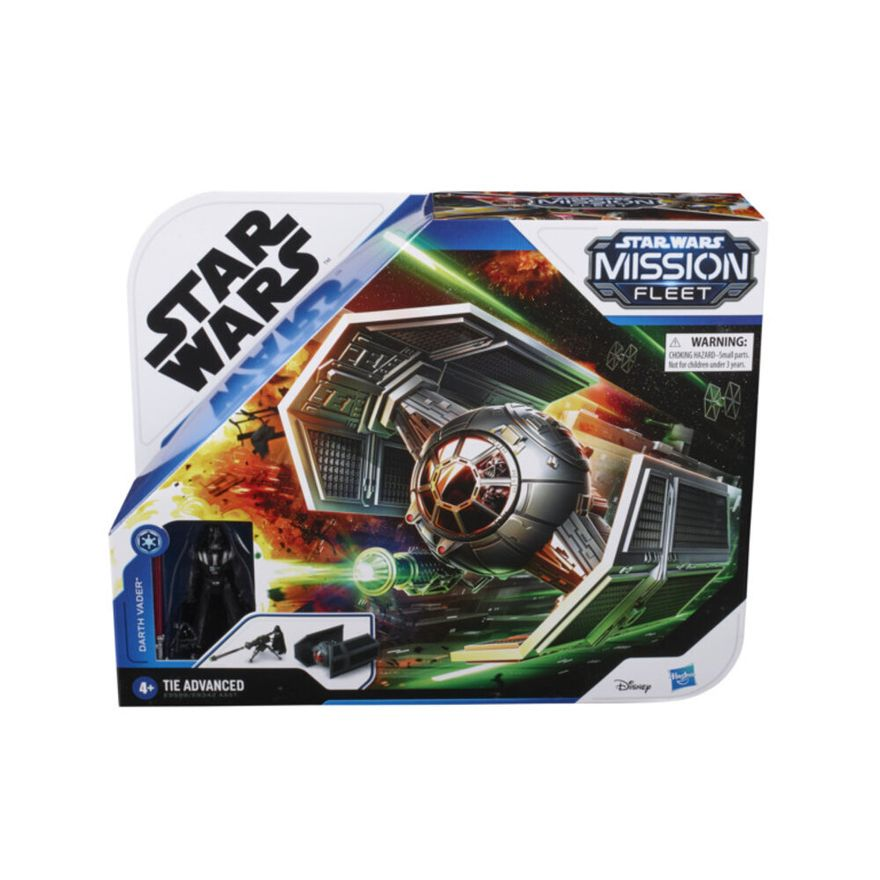 Veiculo-e-Mini-Figura-Articulada---Disney---Star-Wars---Mission-Fleet---Tie-Advanced---Hasbro-1