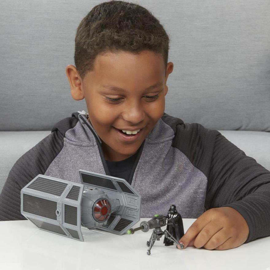 Veiculo-e-Mini-Figura-Articulada---Disney---Star-Wars---Mission-Fleet---Tie-Advanced---Hasbro-2