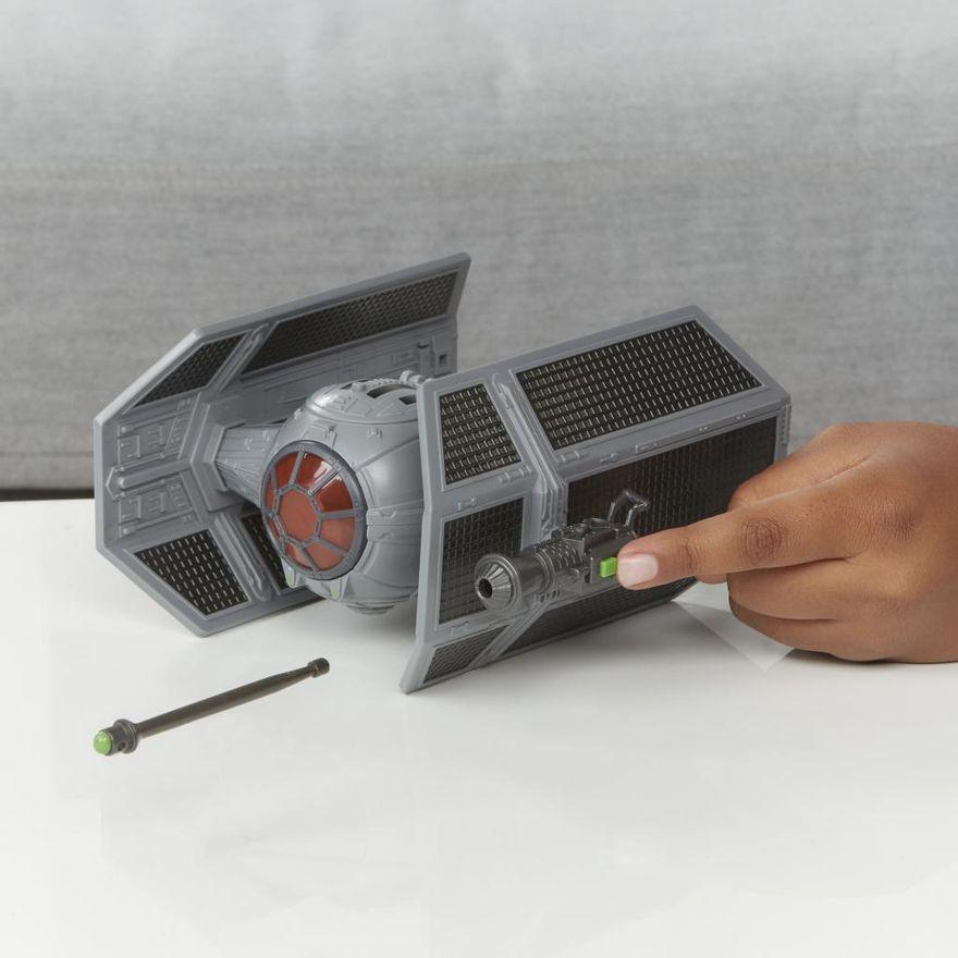 Veiculo-e-Mini-Figura-Articulada---Disney---Star-Wars---Mission-Fleet---Tie-Advanced---Hasbro-5