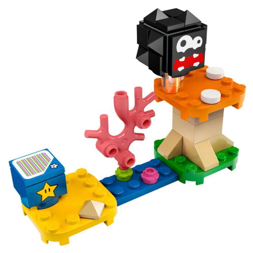 3PRE-VENDA-LEGO-Super-Mario---Aventuras-com-Luigi---Pacote-Inicial---71387-e-Expansao-Plataforma-Cogumelo