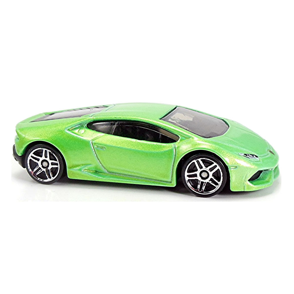 Mini Veículo Hot Wheels - Lamborghini Huracan LP 610-4 - Verde - Mattel
