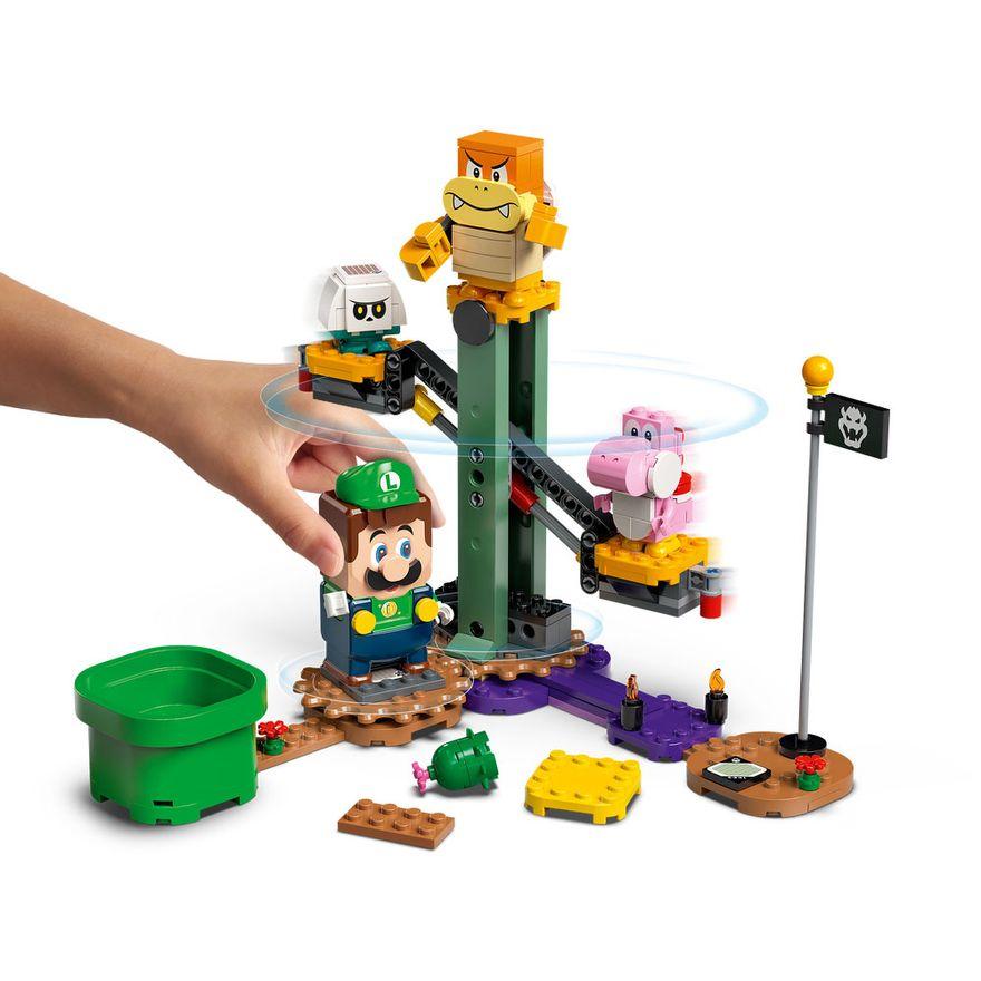 LEGO-Super-Mario---Aventuras-com-Luigi---Pacote-Inicial---71387---Brinde-Expansao--Plataforma-Cogumelo-1
