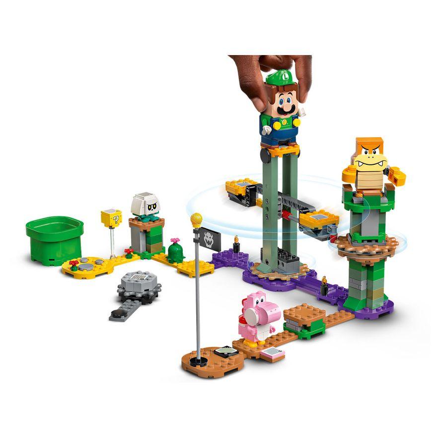 LEGO-Super-Mario---Aventuras-com-Luigi---Pacote-Inicial---71387---Brinde-Expansao--Plataforma-Cogumelo-2