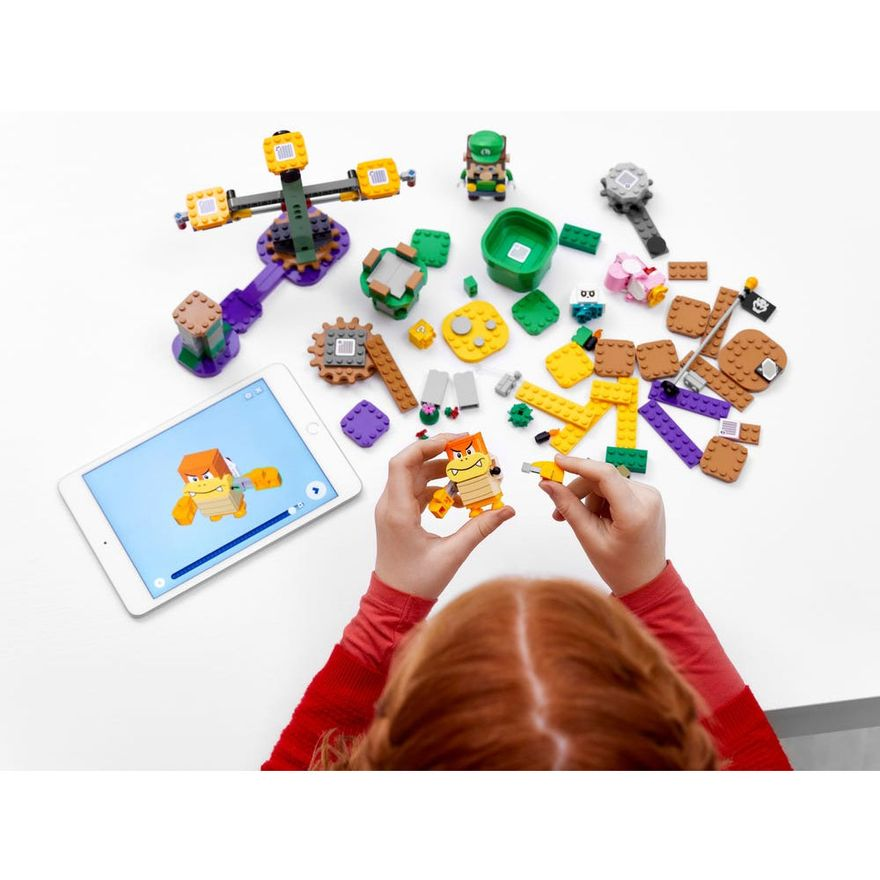 LEGO-Super-Mario---Aventuras-com-Luigi---Pacote-Inicial---71387---Brinde-Expansao--Plataforma-Cogumelo-7
