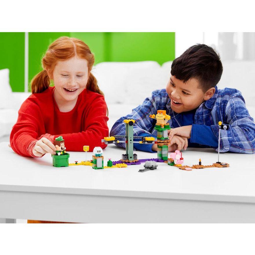 LEGO-Super-Mario---Aventuras-com-Luigi---Pacote-Inicial---71387---Brinde-Expansao--Plataforma-Cogumelo-8