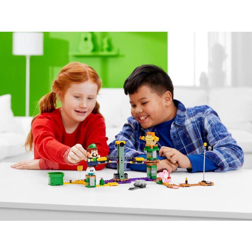LEGO-Super-Mario---Aventuras-com-Luigi---Pacote-Inicial---71387---Brinde-Expansao--Plataforma-Cogumelo-9