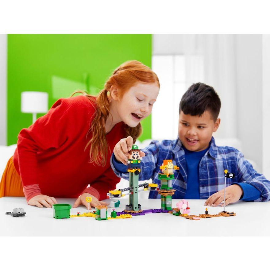 LEGO-Super-Mario---Aventuras-com-Luigi---Pacote-Inicial---71387---Brinde-Expansao--Plataforma-Cogumelo-10