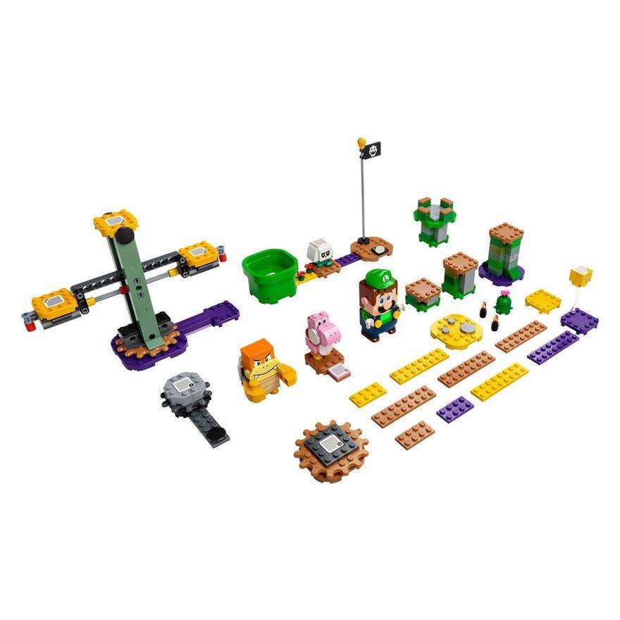 LEGO-Super-Mario---Aventuras-com-Luigi---Pacote-Inicial---71387---Brinde-Expansao--Plataforma-Cogumelo-11