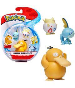 Figuras-de-Acao---Pokemon---Jazwares---Psyduck---Sobble---Togepi---Sunny-0