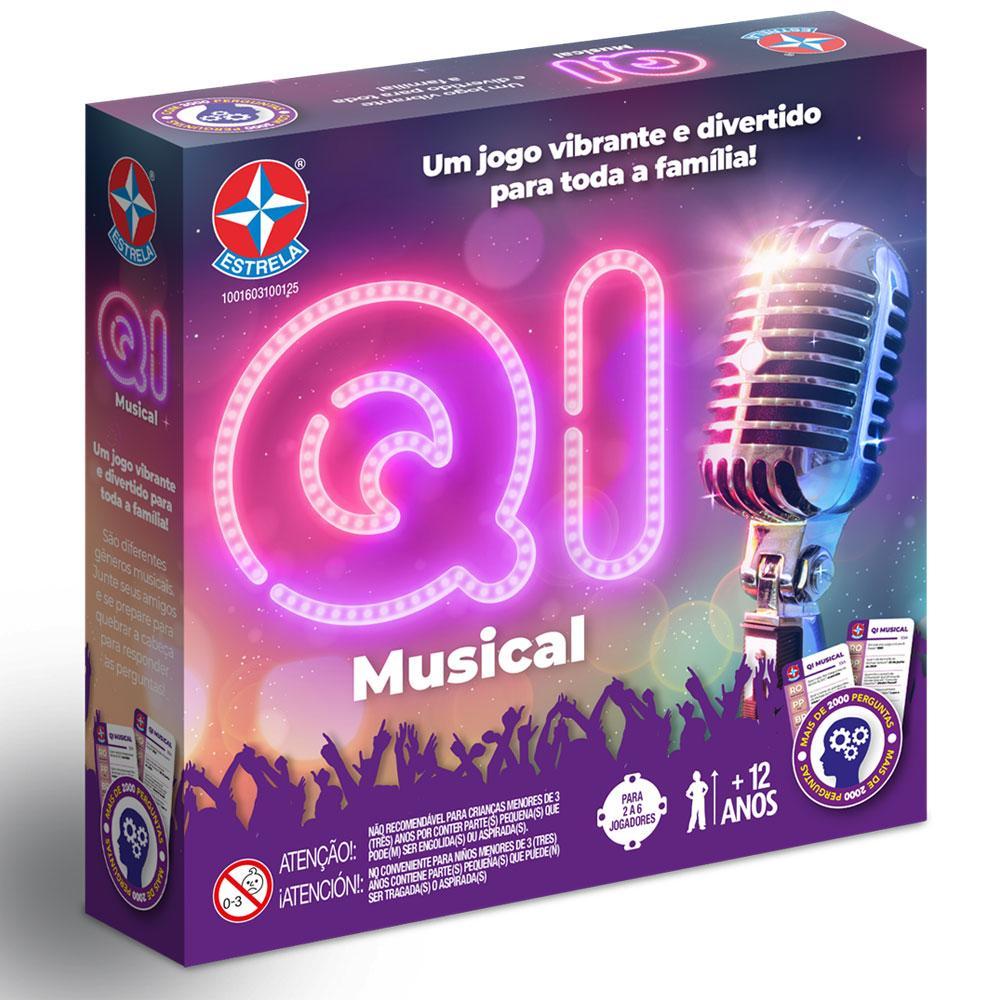 Jogo QI Musical - Perguntas e Respostas - Estrela
