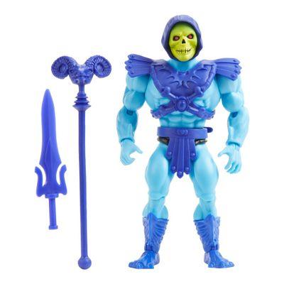 Figura-de-Acao-Articulado---Masters-Of-The-Universe---Esqueleto---Cabeca-Vintage---Mattel-0