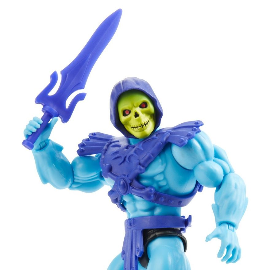 Figura-de-Acao-Articulado---Masters-Of-The-Universe---Esqueleto---Cabeca-Vintage---Mattel-3