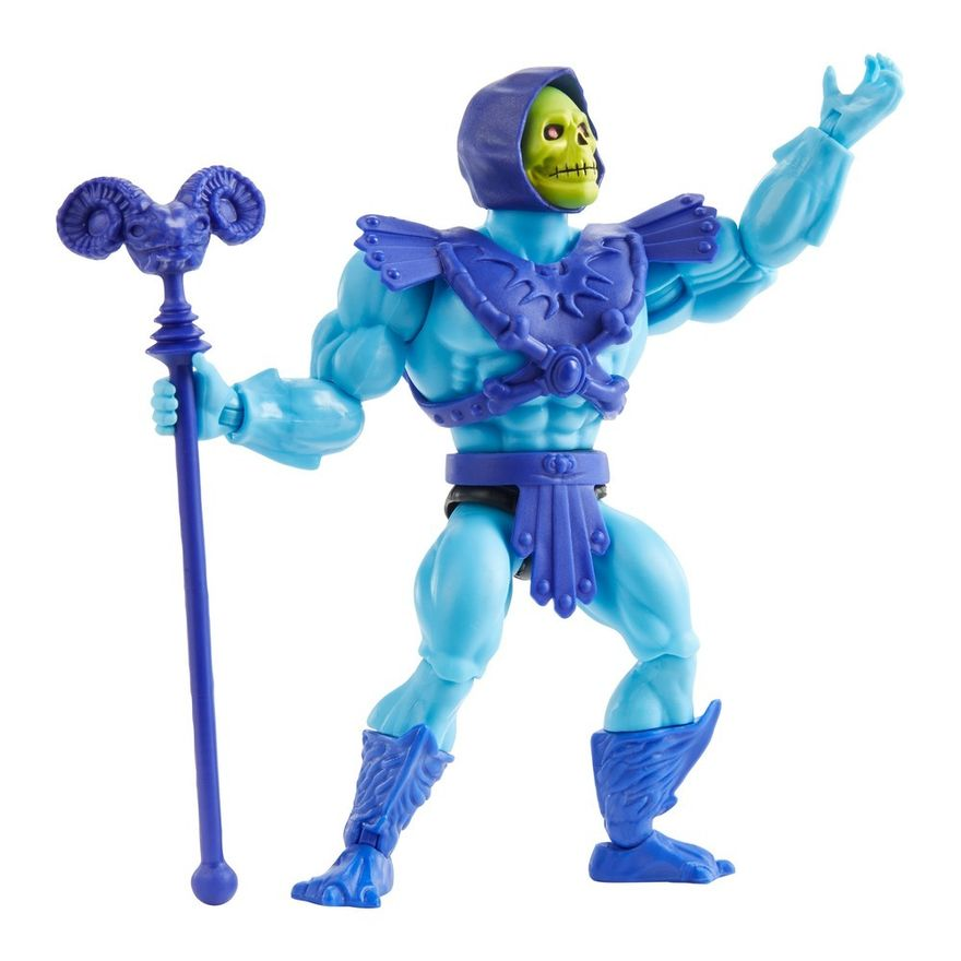 Figura-de-Acao-Articulado---Masters-Of-The-Universe---Esqueleto---Cabeca-Vintage---Mattel-7