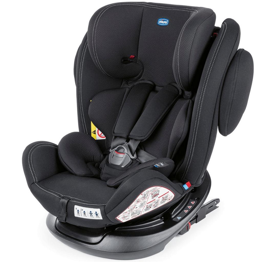 Cadeirinha Para Carro Chicco Unico 360º Isofix 0-36Kg Black