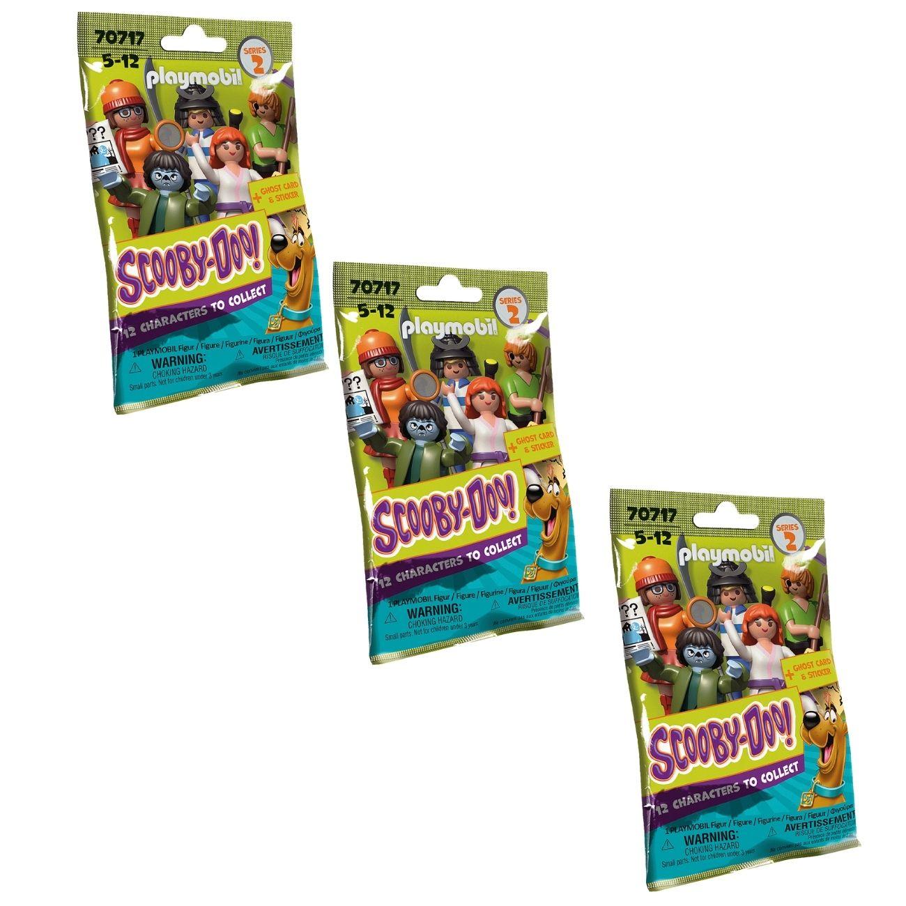 Playmobil Scooby Doo - 3 Figuras Surpresa Colecionável 70717