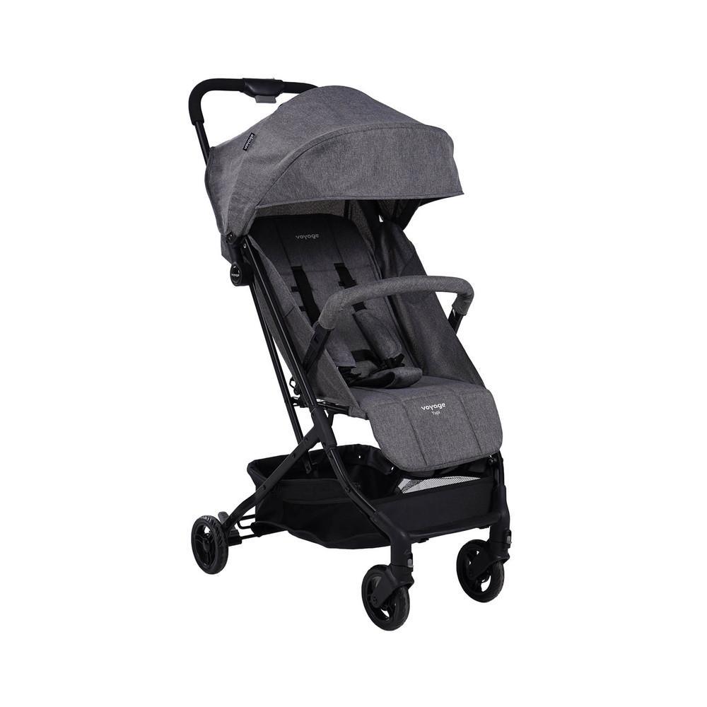 Carrinho de Bebê Yupi Voyage - Cinza Mescla