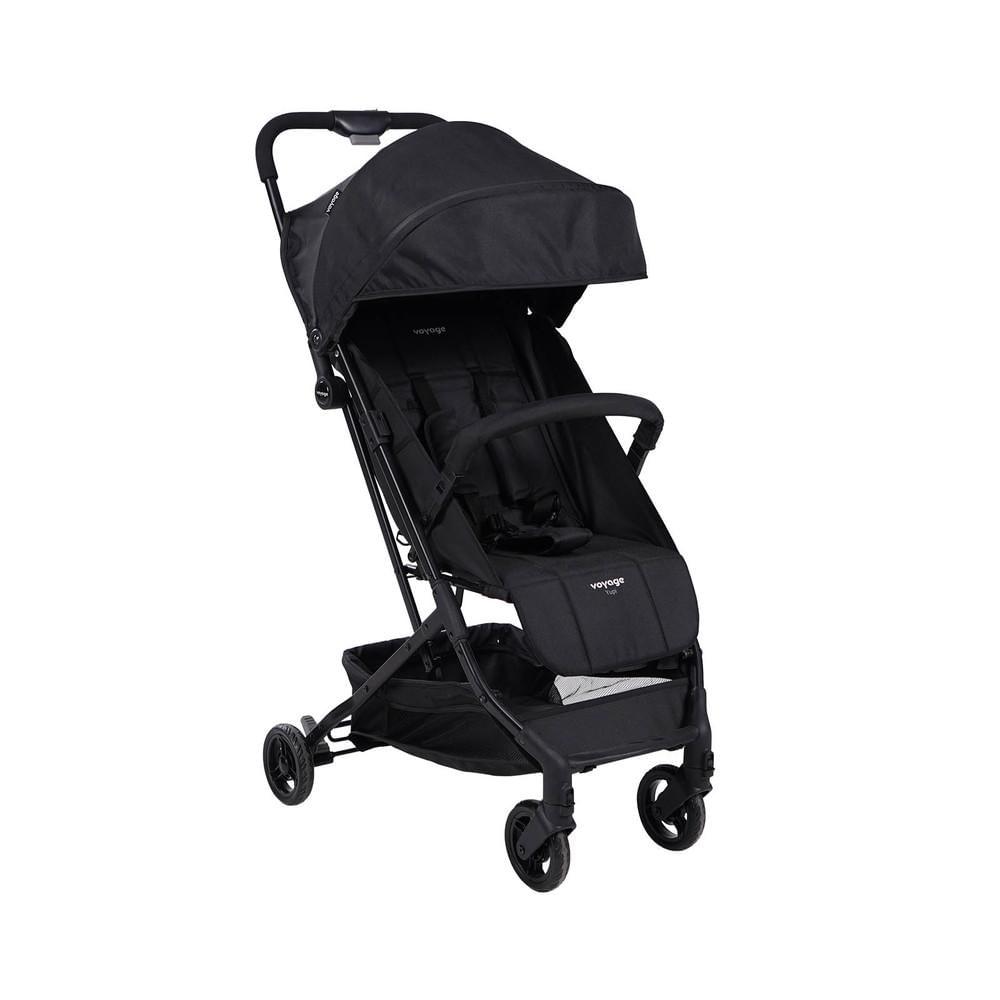 Carrinho de Bebê Yupi Voyage - Preto