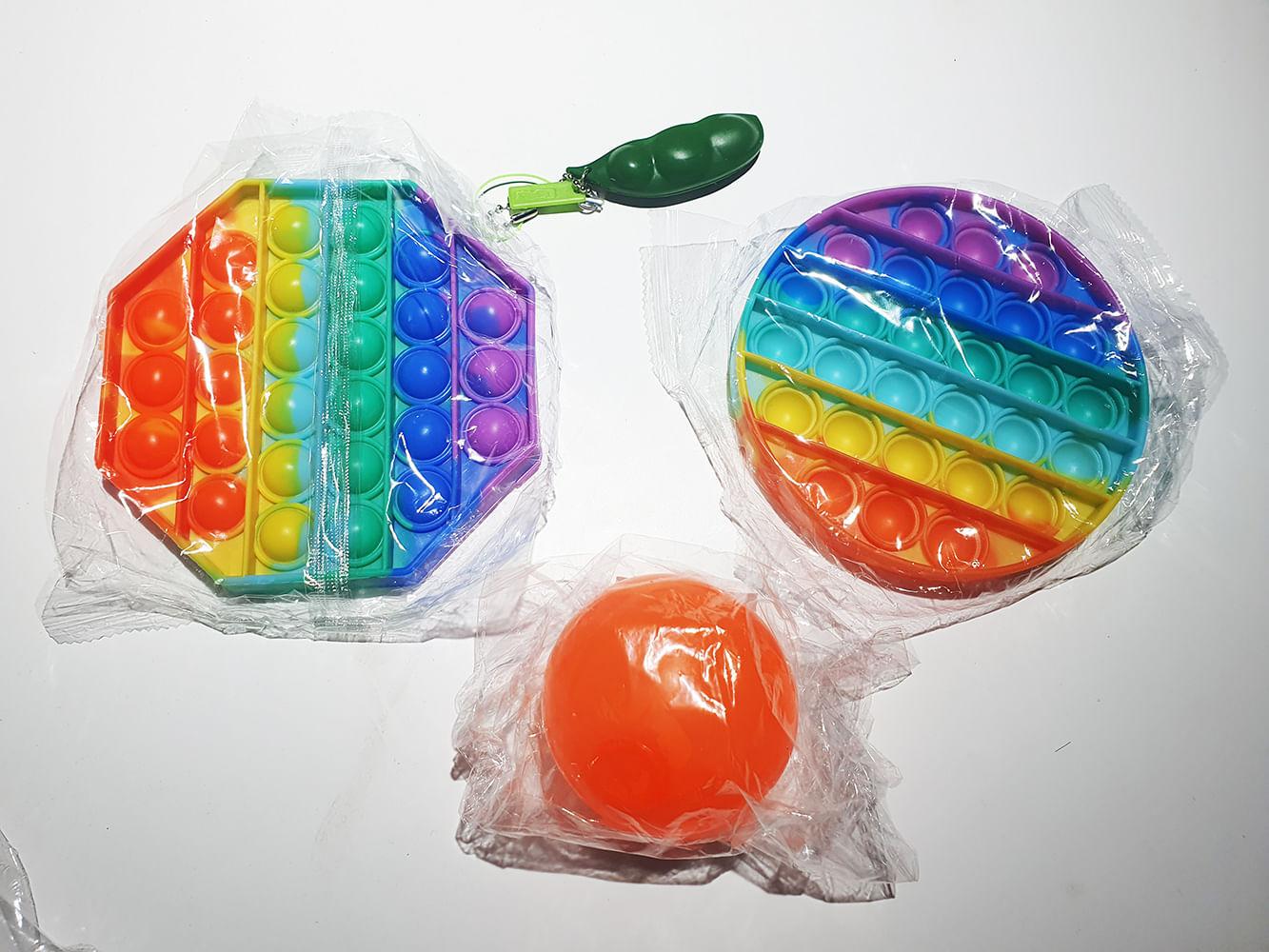 Kit Magic Fidget Toys 4 Itens