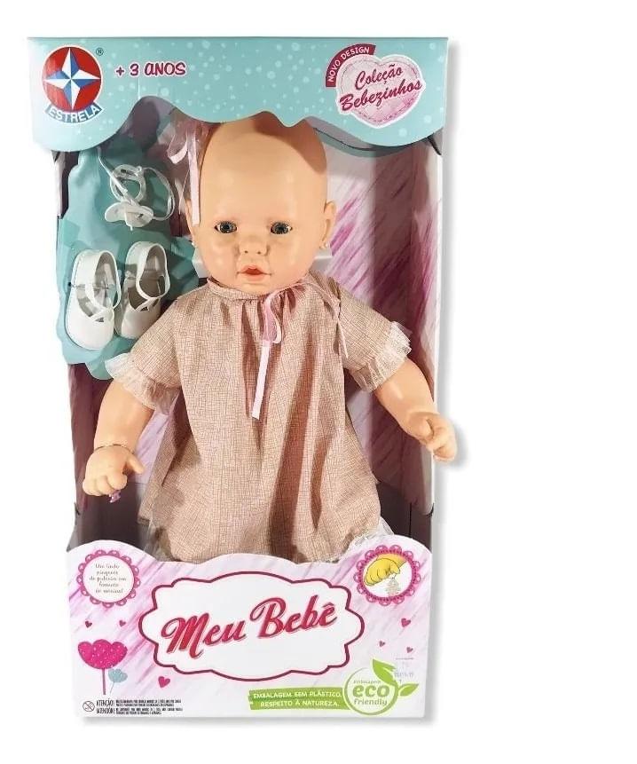 Boneca Meu Bebê - Assortments 1 Vestido Rosa - Estrela