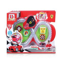 Mini-Playset---Ferrari---Infinity-Race-Set---Burago---Vermelho-0