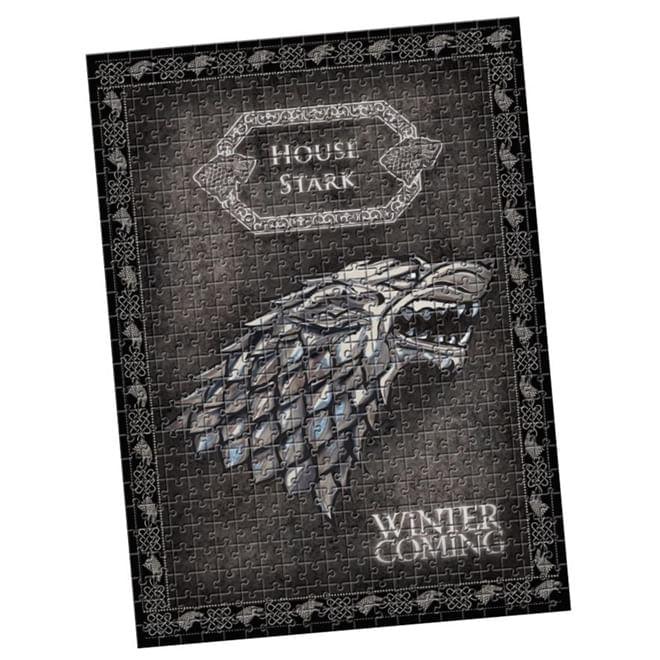 Quebra Cabeça Game Of Thrones Stark 500 Peças - Estrela