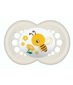 chupeta-original-trends-bico-de-silicone-skinsoft-6-meses-abelha-branco-mam-100446218_Frente
