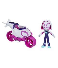 Mini-Veiculo-e-Figura---Disney---Marvel---Spidey-and-His-Amazing-Friends---Ghost-Spider---Hasbro-0