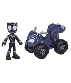 Mini-Veiculo-e-Figura---Disney---Marvel---Spidey-and-His-Amazing-Friends---Pantera-Negra---Hasbro-0