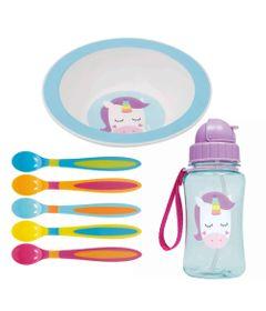 Kit-de-Alimentacao-Animal-Fun---Unicornio---7-Pecas-com-Bowl---Buba