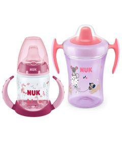 Kit-de-Copos-NUK---150-Ml-e-230-Ml---Girls---Animais