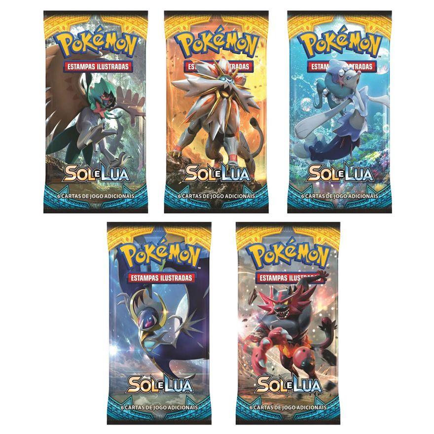 Kit-de-Decks-Pokemon---Blister-Unitarios---Sol-e-Lua---Copag