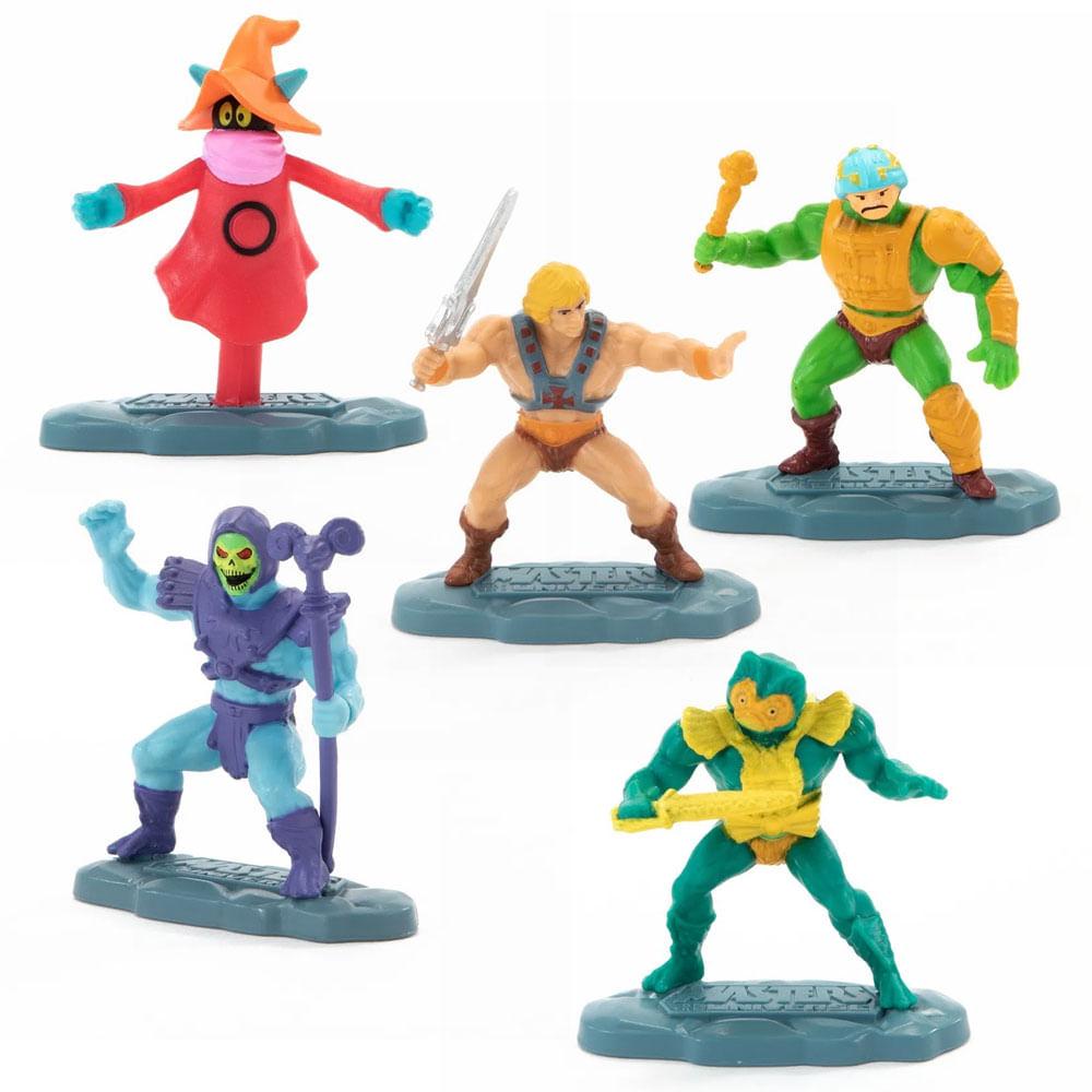 Kit de Mini Figuras - Masters Of The Universe - 5 Personagens - Mattel