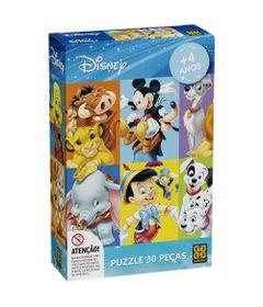 Quebra-Cabeca---Personagens-Disney---30-Pecas---Mickey-e-Amigos---Grow_Frente