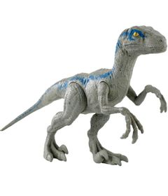 Figura-de-Acao---Jurassic-World---Velociraptor-Blue---30-cm---Mattel-0