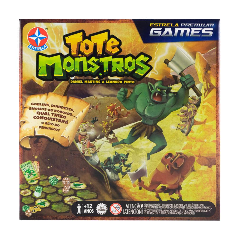 Jogo tote monstros - estrela premium games