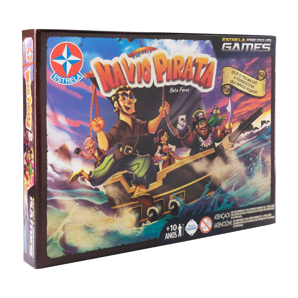 Jogo navio pirata - estrela premium games