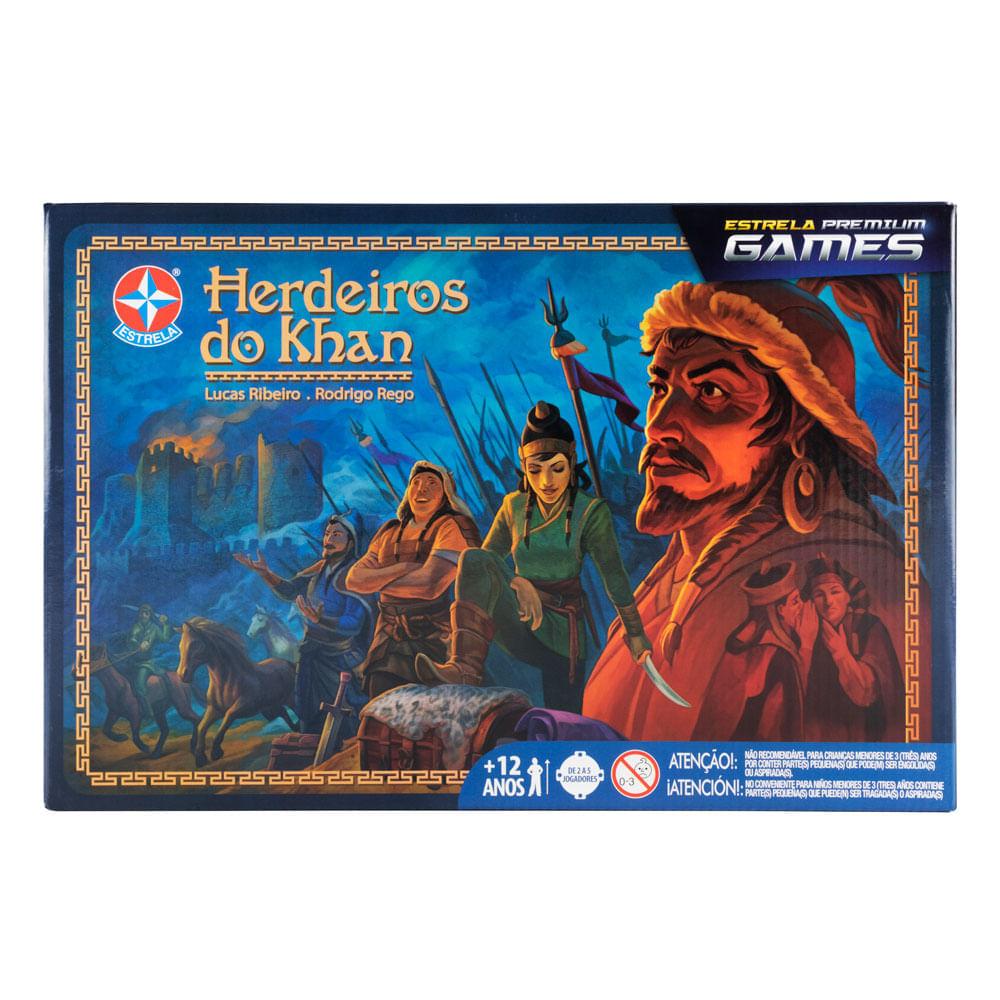 Jogo herdeiros do khan - estrela premium games