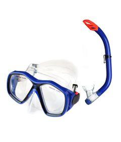 Kit-Mergulho---Mascara-e-Snorkel---Azul---Multikids-0