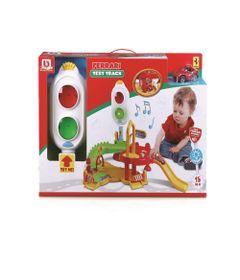 Playset-com-Mini-Carrinho---Minha-Primeira-Pista-de-Testes---Ferrari---Maisto-0