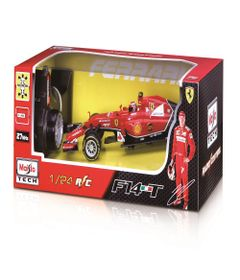 Carrinho---Radio-Control-1-24---Racing-Series---Ferrari-F14T---Maisto---Vermelho-0