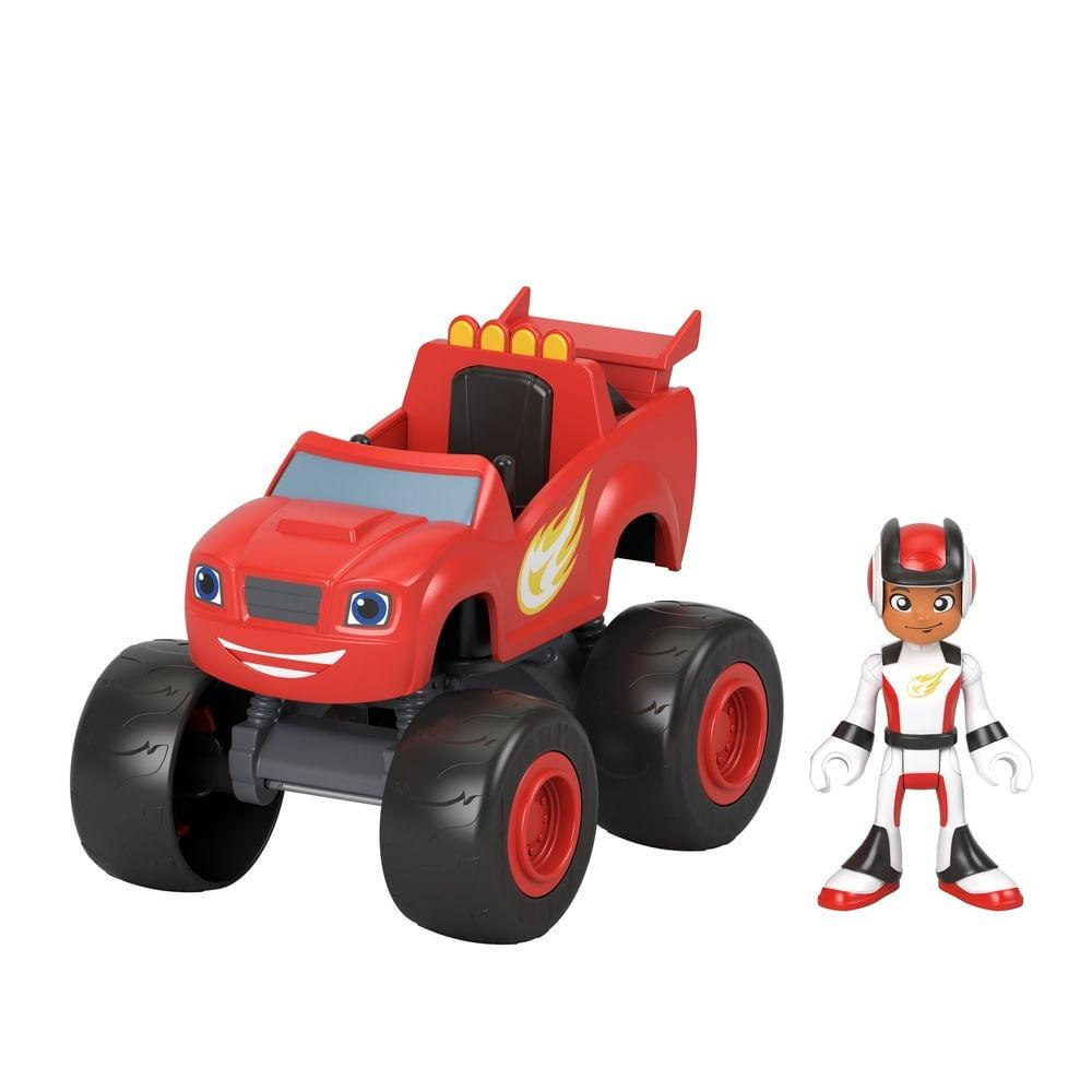 Veículo e Boneco - Blaze and the Monster Machines - Blaze e AJ - Fisher-Price