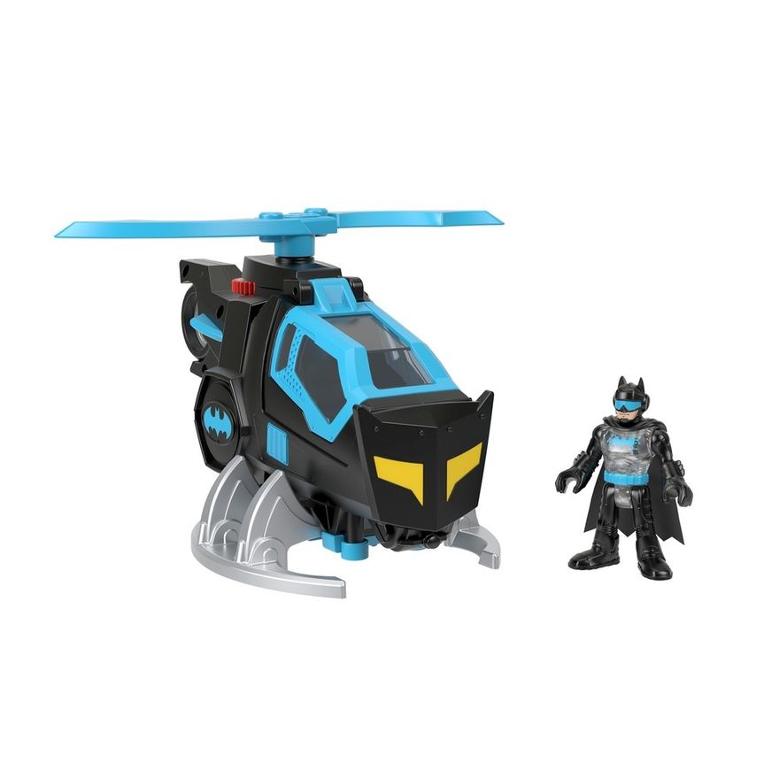 Mini-Boneco---Imaginext---DC-Super-Friends---Bat-Tech---Helicoptero-do-Batman---Mattel-0