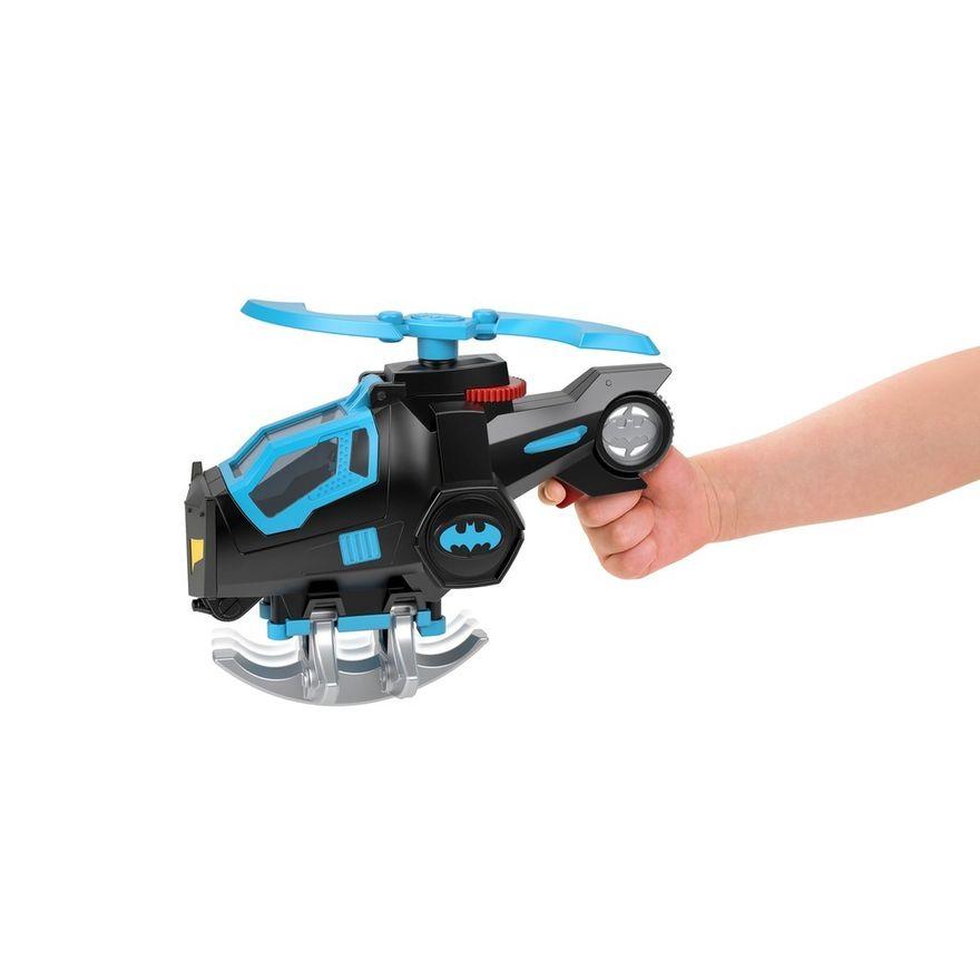 Mini-Boneco---Imaginext---DC-Super-Friends---Bat-Tech---Helicoptero-do-Batman---Mattel-2