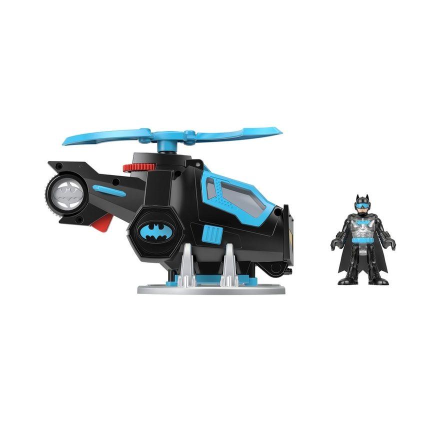 Mini-Boneco---Imaginext---DC-Super-Friends---Bat-Tech---Helicoptero-do-Batman---Mattel-4