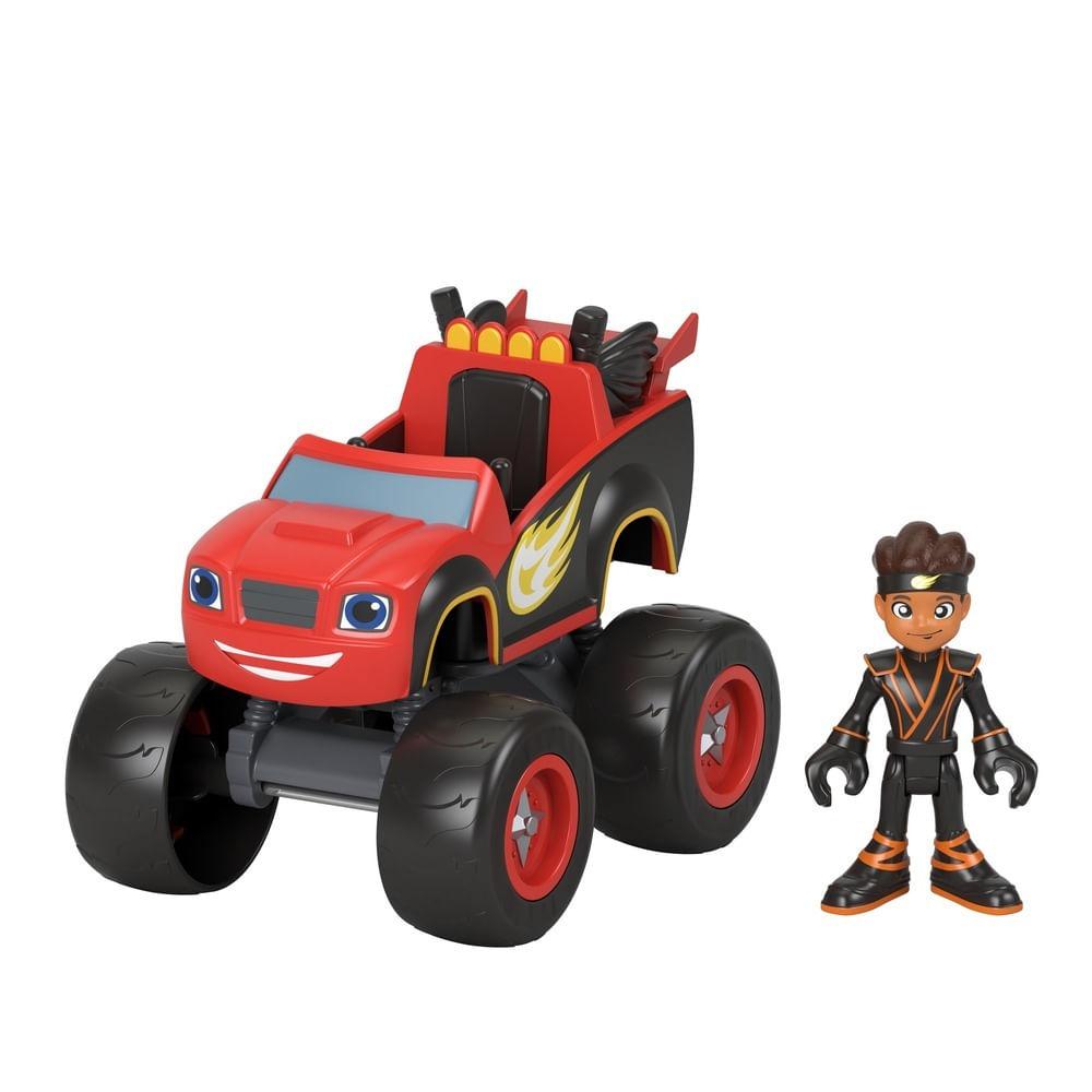 Veículo - Blaze and the Monster Machines - Blaze e AJ Ninja - Fisher-Price