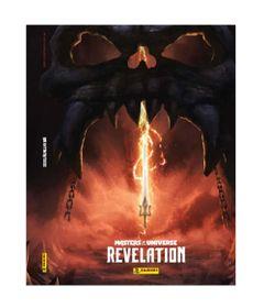 Livro---Album-Masters-Of-The-Universe---Revelation---He-Man---Panini-0