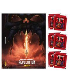 figurinhas-Kit-Masters-Of-The-Universe---Album-de-Brochura---Revelation-com-60-Figurinhas---Panini