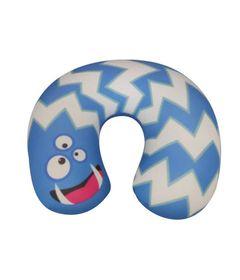 Almofada-de-Pescoco-Infantil---Monstrinho---Azul---Fom-0